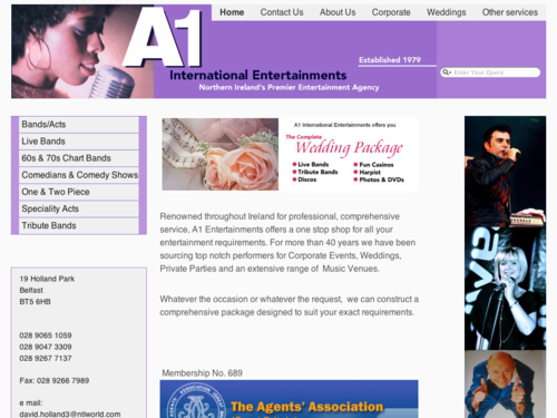 a1internationalentertainments.com