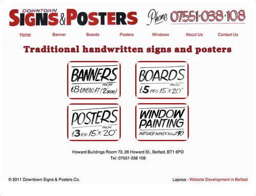 Downtownsignsandposters.co.uk